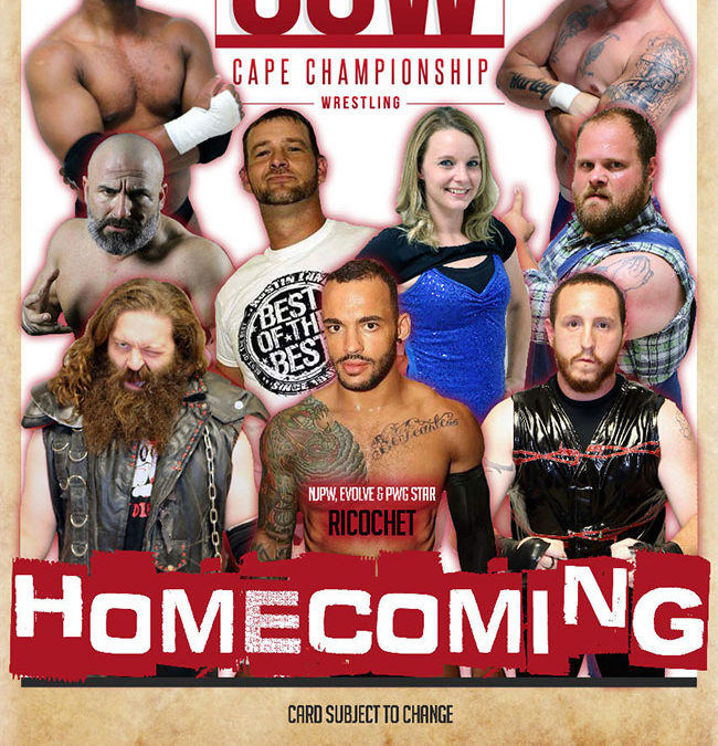 CCW Homecoming Poster