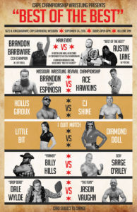 CCW Best of the Best Poster