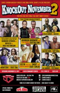 CCW Knockout November 2 Poster