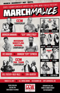 CCW March Malice Poster