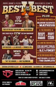CCW Best of the Best 2 Poster