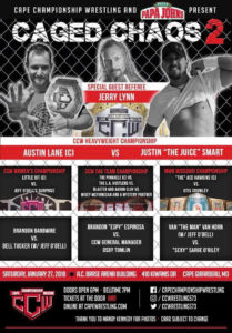 CCW Caged Chaos 2 Poster
