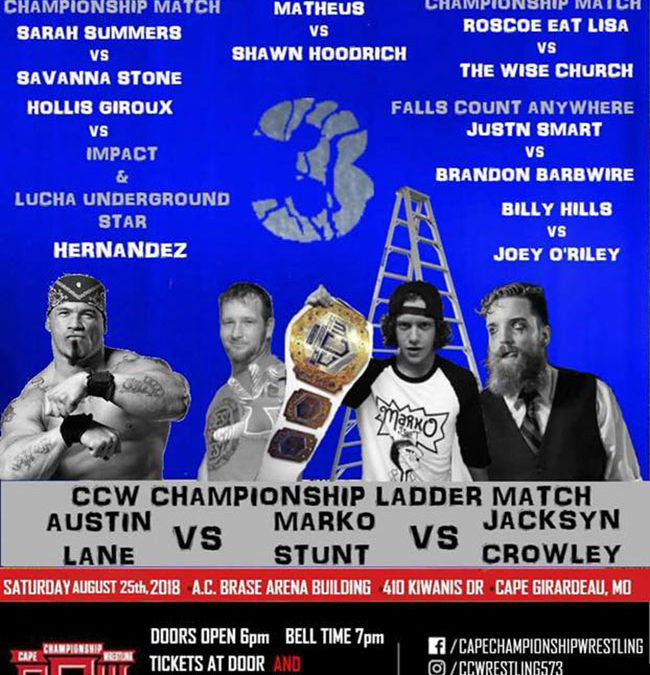 CCW Homecoming 3 Poster
