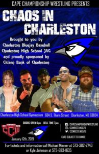 CCW Chaos in Charleston Poster