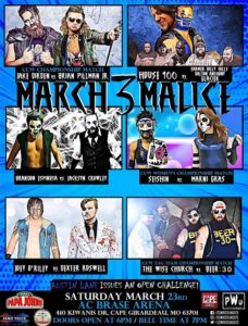 CCW March Malice 3 Poster