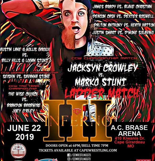 CCW Inferno 3 Poster