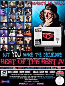 CCW Best of the Best 4 Poster