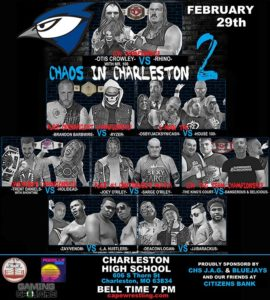 CCW Chaos in Charleston 2 Poster