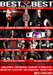 CCW Best of the Best - There's No Turning Back Now Poster